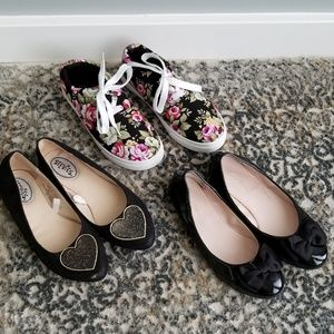 Other - 3 Pair Girls Shoes Bundle in Size 1's Ruby & Bloom